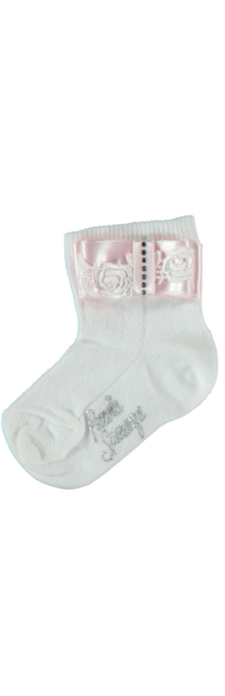 Piccola Speranza Girls Diamante Socks
